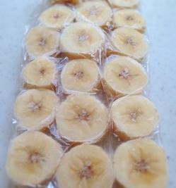 輪切り冷凍バナナ